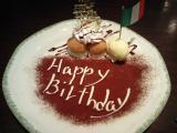 カプリチョーザ誕生日デザート