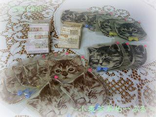 アロマ石鹸&猫コースター