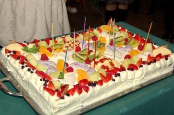 CA10周年パーティー_バースデーケーキ