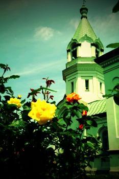トイカメラ函館ハリストス正教会