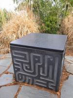 三鷹の森ジブリ美術館_ラピュタの石碑