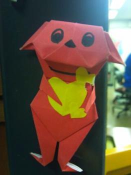 折り紙チーバくん