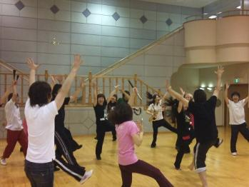 CAワークショップ_ダンス練習