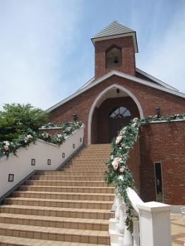 金森赤レンガ倉庫のなかの教会