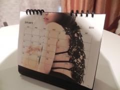 公式カレンダー 紀里谷蘭