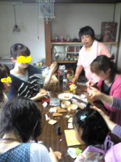 レザー教室20110511レザーキーケース