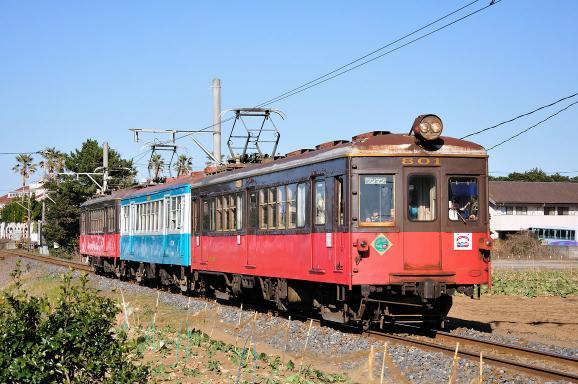 2010.01.23 1408_02(1) 犬吠~外川 デハ801+702+701