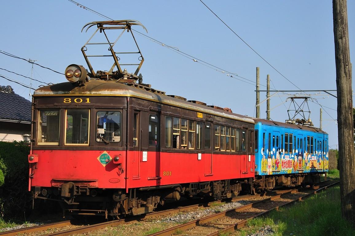 2010.05.01 1601_44(3) 笠上黒生 デハ1001+デハ801