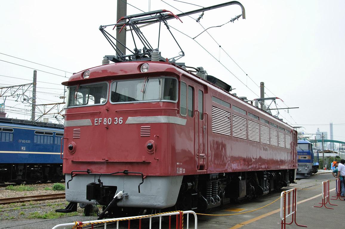 2010.05.22 1518_20(1) 大宮工場 EF80 36
