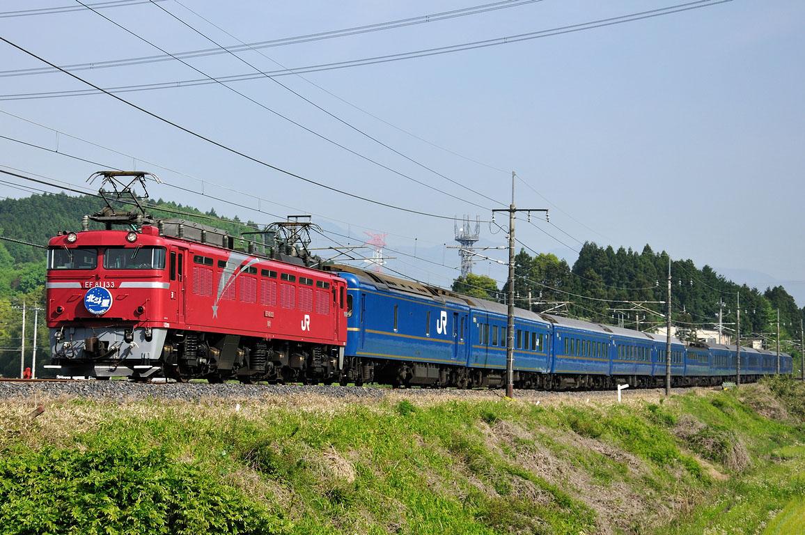 2010.05.17 0746_00(1) 矢板~片岡 EF81 133 「北斗星」