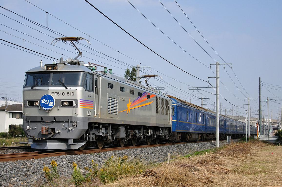 2010.11.08 0919_30(2) 久喜~新白岡 EF510-510 「北斗星」