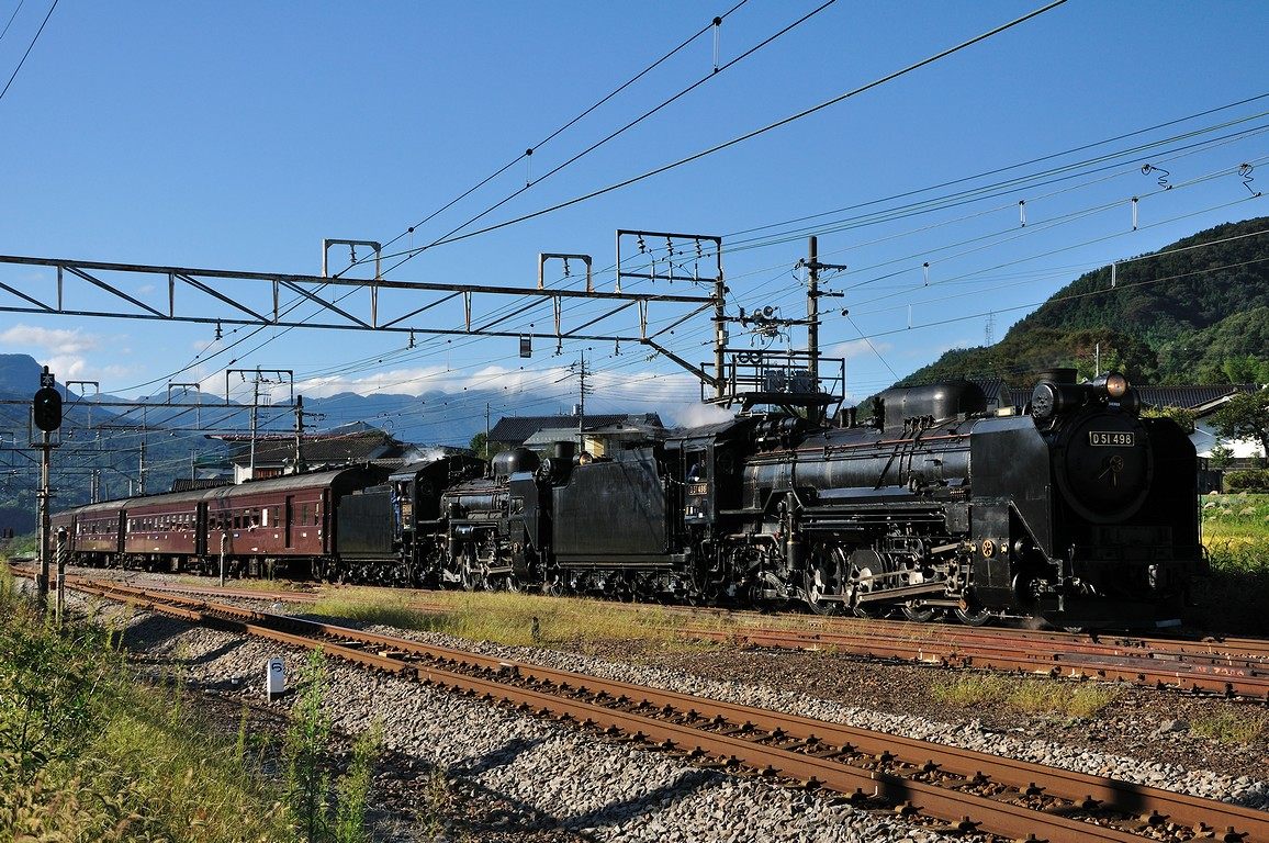 2011.09.24 1538_02(1) 後閑付近 D51 498+C58 363+在来形客車ts