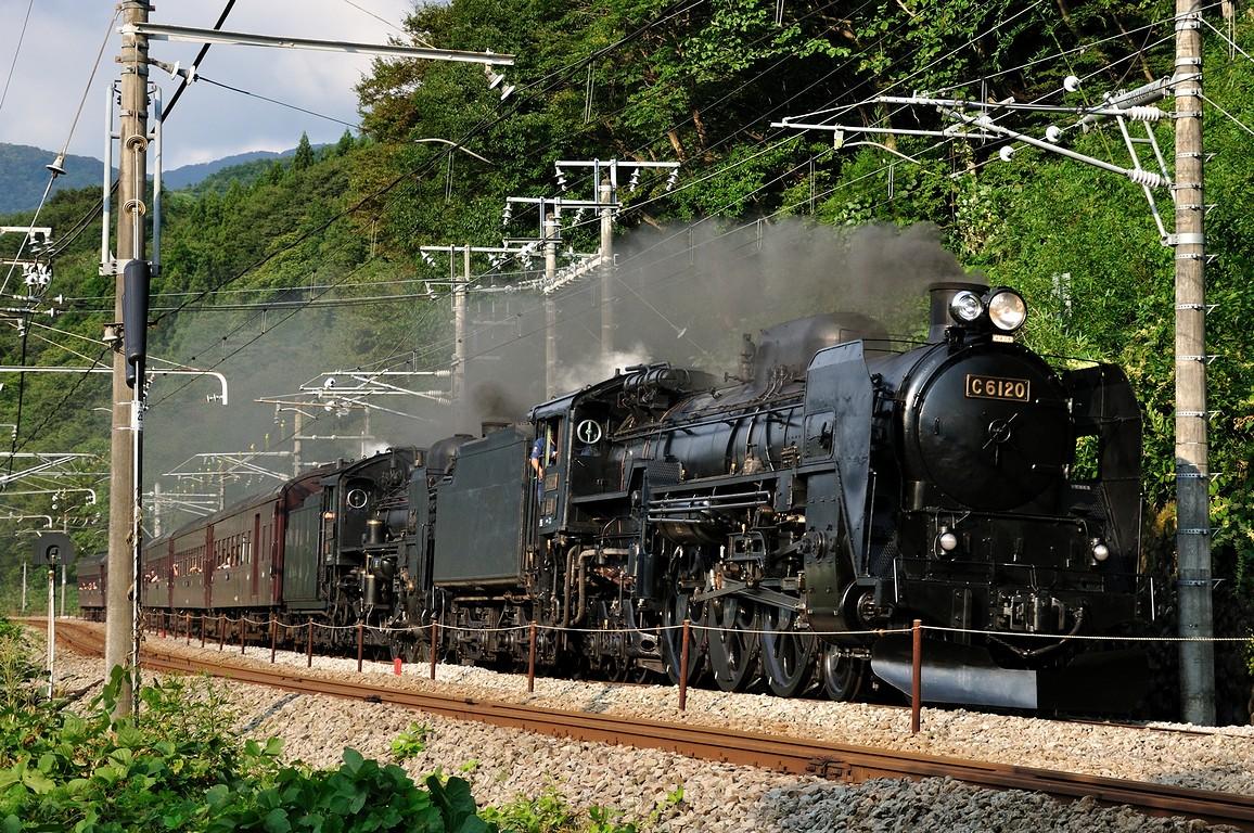 2011.09.25 1529_20(2) 上牧~後閑 C61 20+C58 363+在来形客車tts