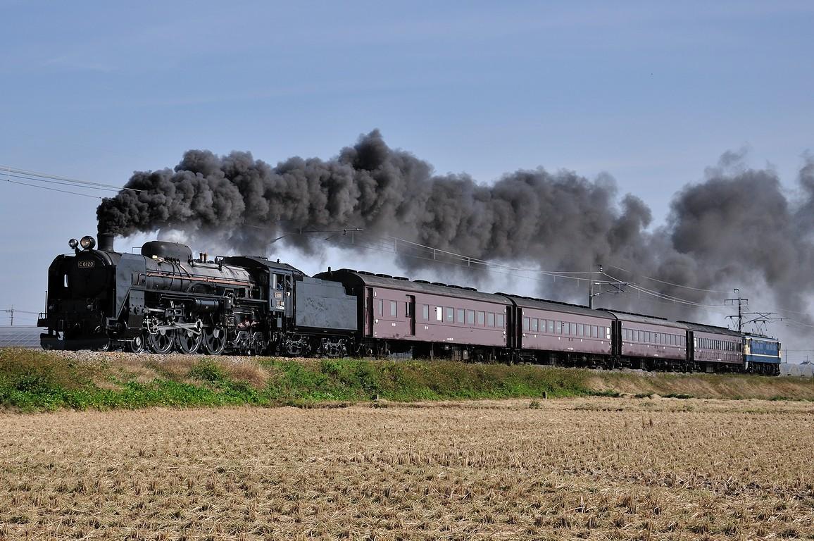2011.11.02 1147_02(1) 駒形~伊勢崎 C61 20+在来形客車+EF65 501ts