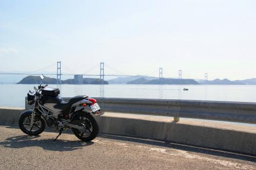 VTRと来島海峡大橋