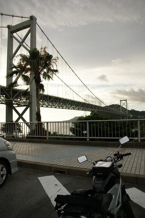 関門橋とVTR