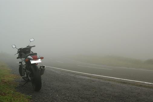 大観峰への道