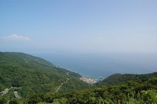 佐田岬半島の風景