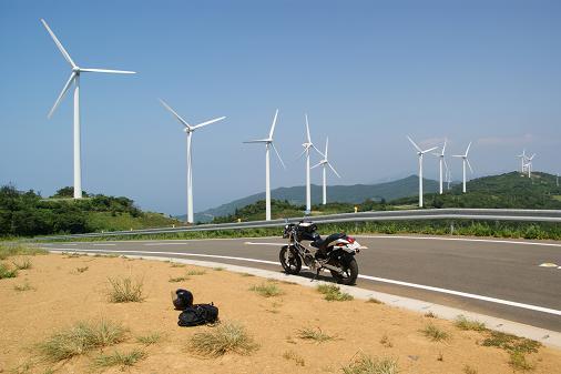 風車を巡り過ぎな旅