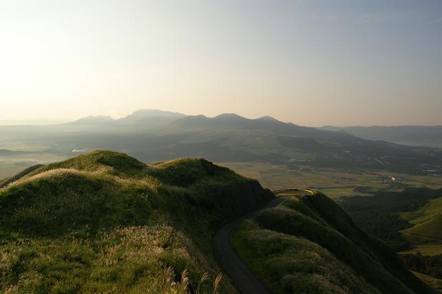 ラピュタの道の山頂にて