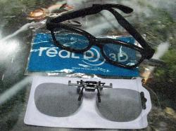 今回の3Dメガネはいい感じです