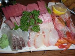 魚三のお造り