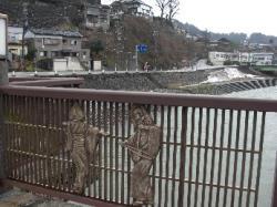 井田川沿いを歩いて