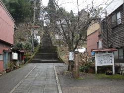 諏訪町から城ヶ山公園へ