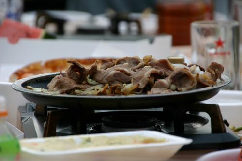 マトン焼き肉