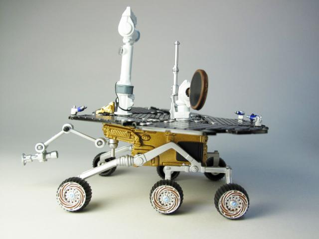 火星探査車(ローバー)【スピリット/オポチュ二ティ】②