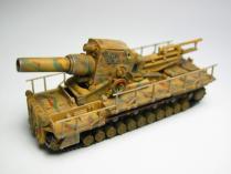 カール自走臼砲(54cm砲搭載)【1/144】ジャイアントアーマーシリーズ