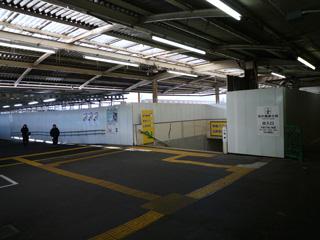 地上の姫路駅見納め