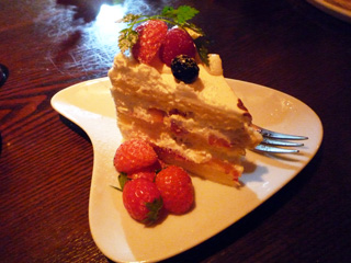 旨そうなケーキ
