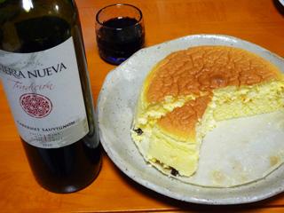 チーズケーキ&ワイン