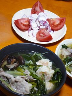 豚とシューマイの野菜スープ