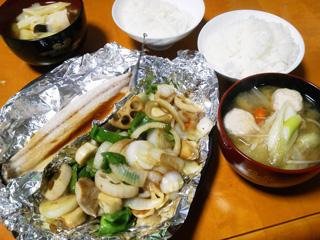 蓮根&エリンギが主張した野菜炒め