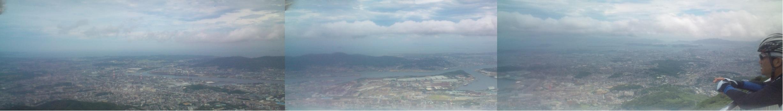 皿倉山頂パノラマ2011_08_07