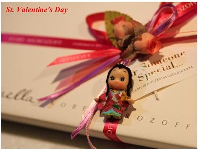千姫キューピーとバレンタイン