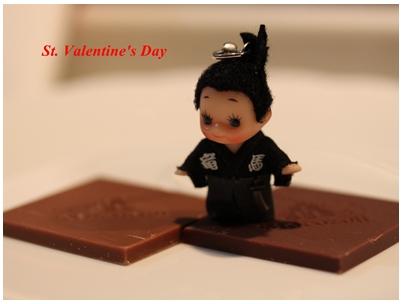 坂本竜馬とバレンタイン