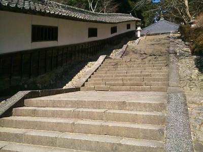 階段と回廊