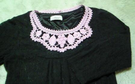 葡萄の胸飾り0610-1