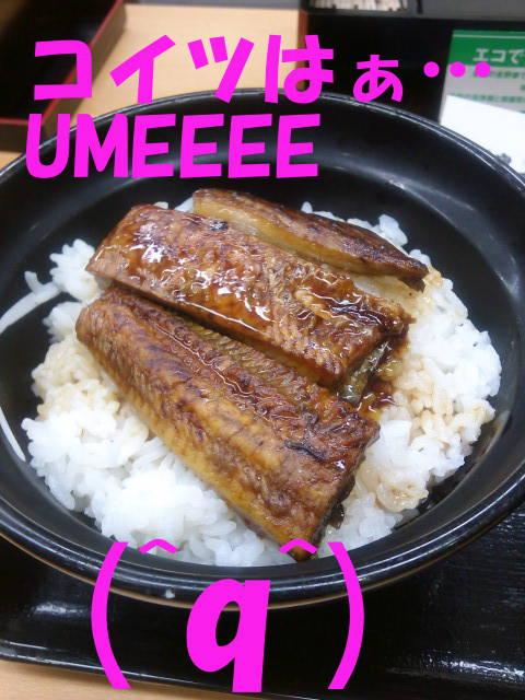 うな丼UMEEE