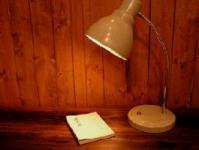 ライト後藤照明さんの手作りデスク