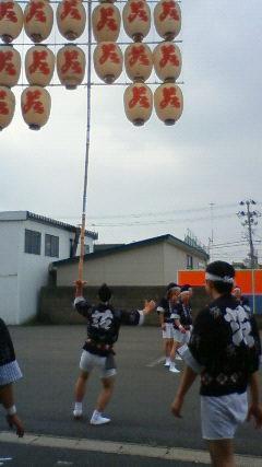 7竿灯祭り
