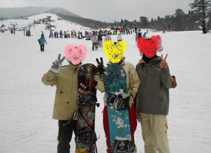 スノボin大山2013