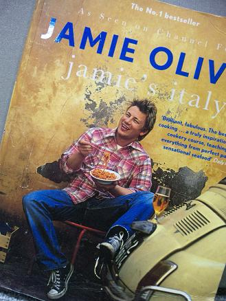 jamie oliver book front page