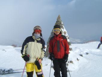 0130八方スキー