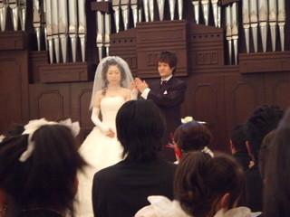 和哉Chee結婚式1