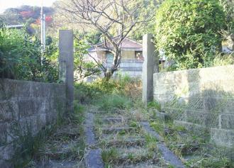 02 荒れ果てた古い石垣 (36%)
