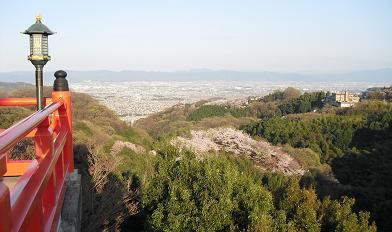 朝護孫子寺より奈良平野方面